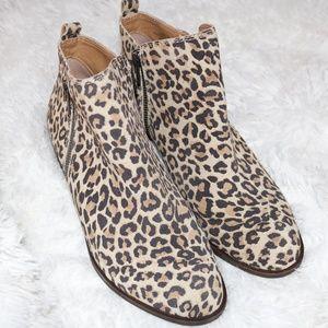 Lucky Brand Women's Lk-Basel Ankle Boot leopard